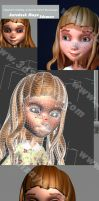 3D Character for animation by eydii