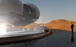 LEXX: L-05 on an unknown desert planet (Photo 3) by Lake333GLD