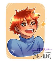 Hinata Shouyou by Mint-Tuna