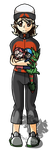Xf-rost--bitex Full Body Commission by DevilsRealm
