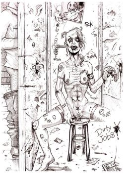 Glory hole horror by GTT-ART