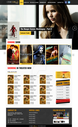WP Cinema Template by amoeed