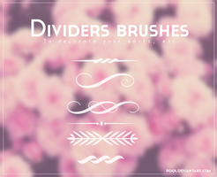 {Dividers brushes} by Poqi