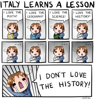 Italy learns a lesson by xlolfishx