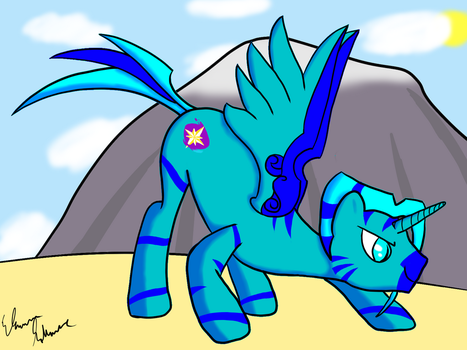 Blue Star by StrykerBrony