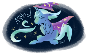 Great and Powerful Sneeze by PashaPup