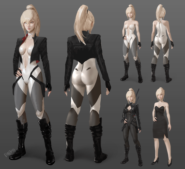 Tess Concept Sheet by raikoart