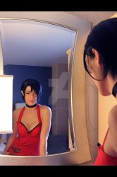 Ada Wong : ... getting ready ... by Mikela-Frost