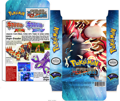Pokemon Primal Clash deck Groudon custom box TCG by SylentEcho88