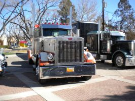 Peterbilt Semi Truck by wastemanagementdude