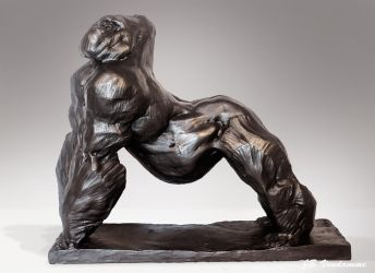Bronze Silverback by JBVendamme