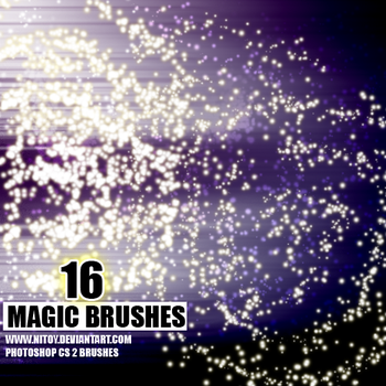 Magic Brushes by nitoy