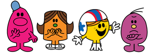 Mr. Men Show Characters In The Book Series Style by KatieGirlsForever