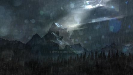 Montain Storm by Opty-Face