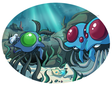 Water Orb Found! [pts] by CoffeeVulture