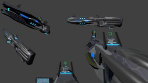Arkvale Ind. Series V M24X3 Plasma Battle Rifle by Marksman104