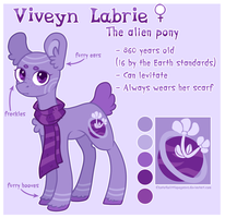 [Reference] Viveyn Labrie by Kate-Littlewing
