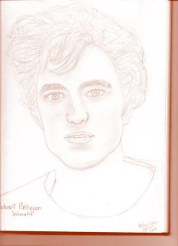 Robert Pattinson drawing by ShaydedxLightning