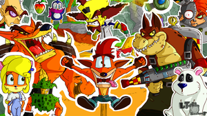 Happy 20th Birthday Crash Bandicoot! by LTE-T