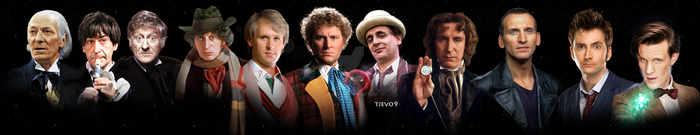 The Eleven Doctors by tjevo9
