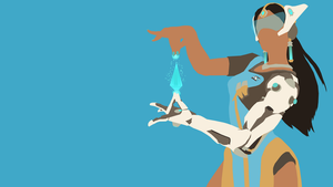 Symmetra from Overwatch by Reverendtundra