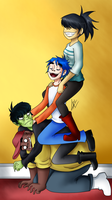 Gorillaz Tower by kuki4982