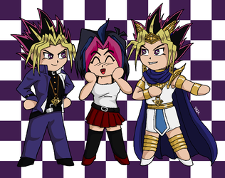 YuGiOh Trio by sailorharmony2000