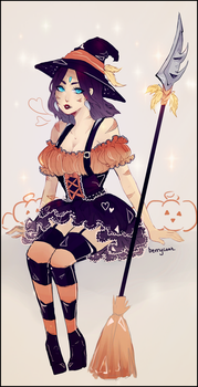 BEWITCHED NIDALEE by berrycoat