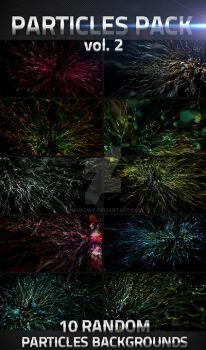 10 Abstract Particles Backgrounds by virusowy