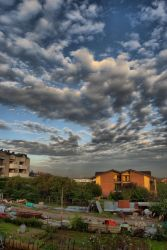 Some clouds in HDR by Nicosubnormale