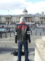 Prototype: Alex Mercer Cosplay in Traf.Square by Danzan1