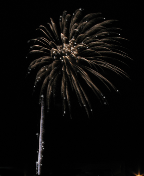 Firework with Added Stars IMG 0847 by TheStockWarehouse