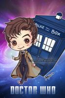 Doctor Who Chibi by StarMasayume