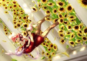 2013: My Sunflower by Rosuuri