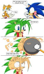 Sonic mini series page 4 by Emm456