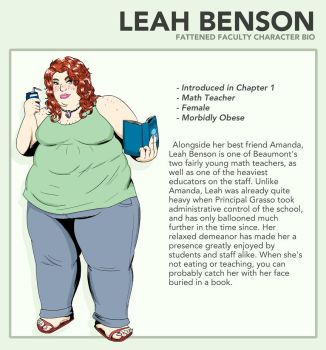 Leah - Fattened Faculty Bio by ExtraBaggageClaim