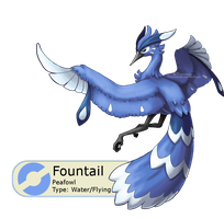 #009 - Fountail by Tinuvion