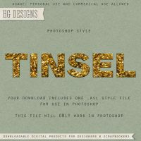 PS Style: TINSEL by HGGraphicDesigns