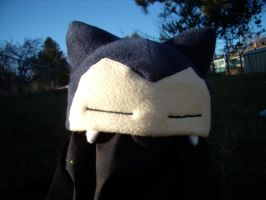 Snorlax Hat by fireflytwinkletoes