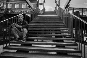 Station Stairs by niklin1