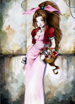 Aerith by OlayaValle