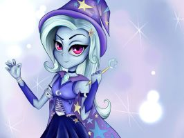 The great and powerful Trixie by SuperRainbowCrash