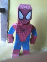 Spiderman Paper hero by asirbachan