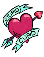 Stupid Cupid (REDBUBBLE!) by JaneGumball