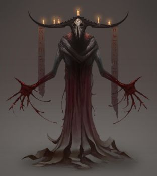 Demon Priest by MorkarDFC