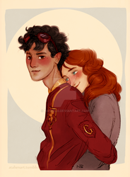 Quidditch and hugs by Natello