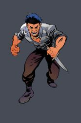 Angry guy by JSA