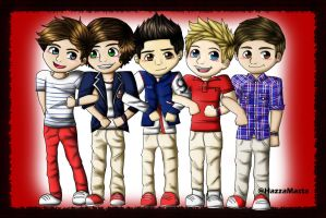 One Direction 3 by ChloeBo