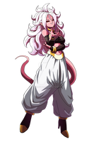 Majin Android 21 by JuneReito