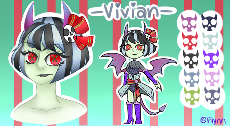 [OC]: Vivian by SimplyDefault